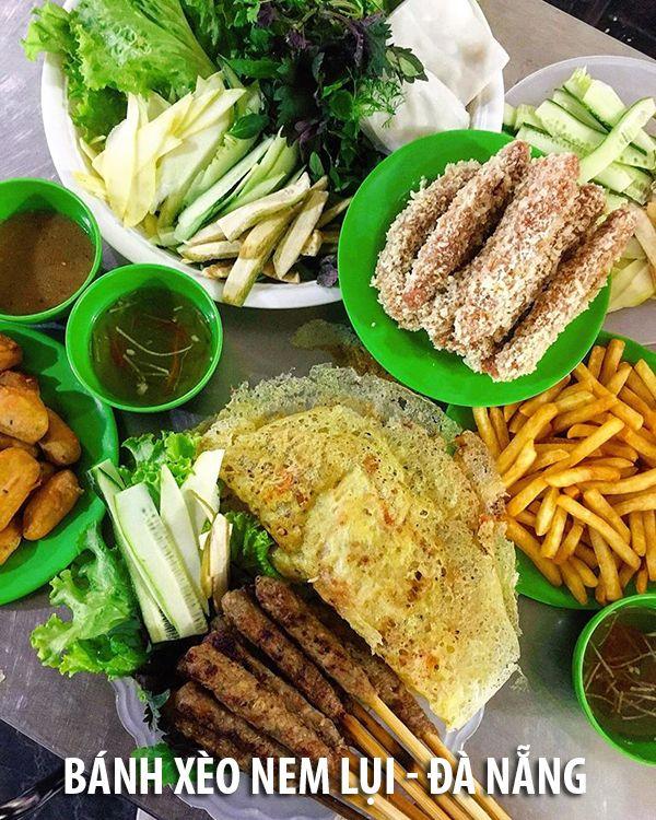 Bánh xèo nem lụi tại Đà Nẵng