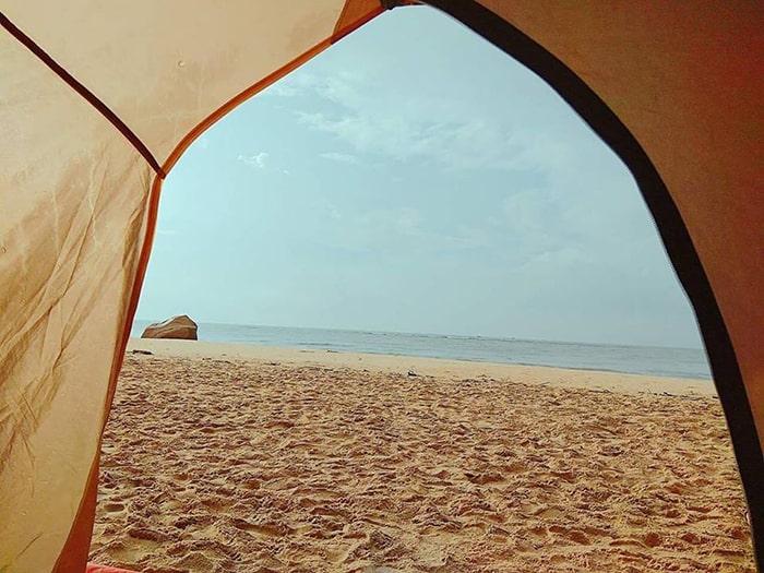 Cắm trại ở mũi Kê Gà