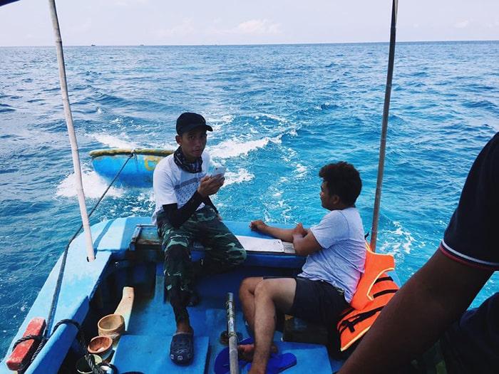 Đi câu trên đảo Phú Quý