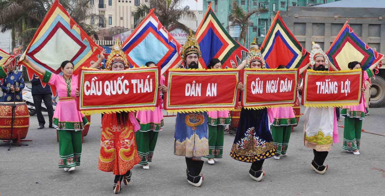 Lễ hội cầu Ngư ở vùng ven biển Nghệ An: tháng Giêng