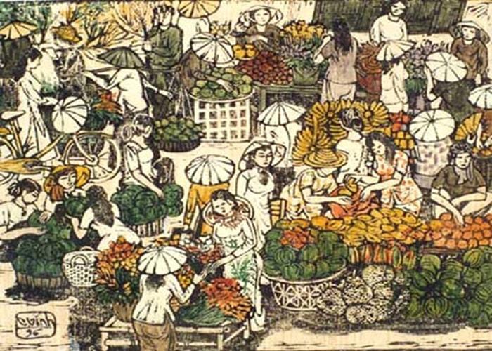 Chợ xuân Gia Lạc - Thừa Thiên Huế