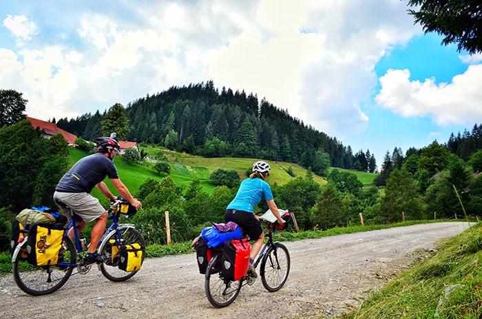Du lịch bycicle là hình thức du lịch bằng xe đạp