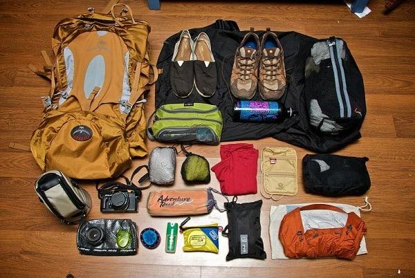 Những đồ dùng cần thiết cho chuyến đi