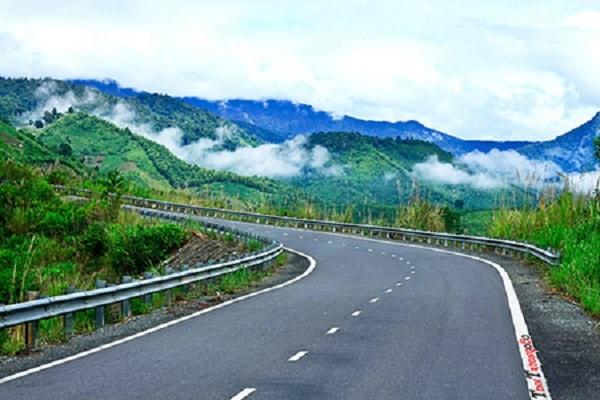 Đèo Hòn Giao với phong cảnh tuyệt diệu