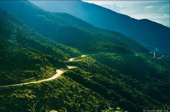 Đèo Cù Mông – Bình Định, Phú Yên nhìn từ xa