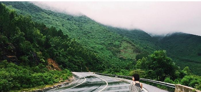 Phong cảnh đèo Ngang hùng vĩ