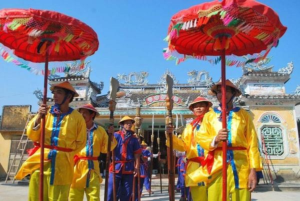 Lễ hội làng Túy Loan truyền thống