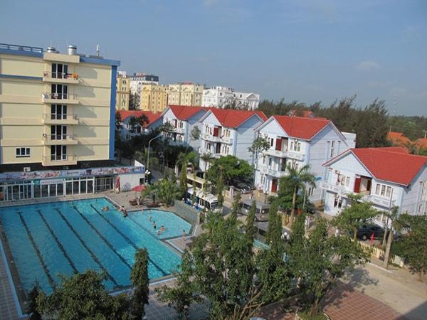 Cơ sở hạ tầng nhà nghỉ ở Hải Tiến