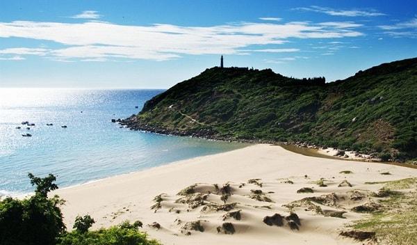 Đảo Hòn Mun, bãi biển Đại Lãnh