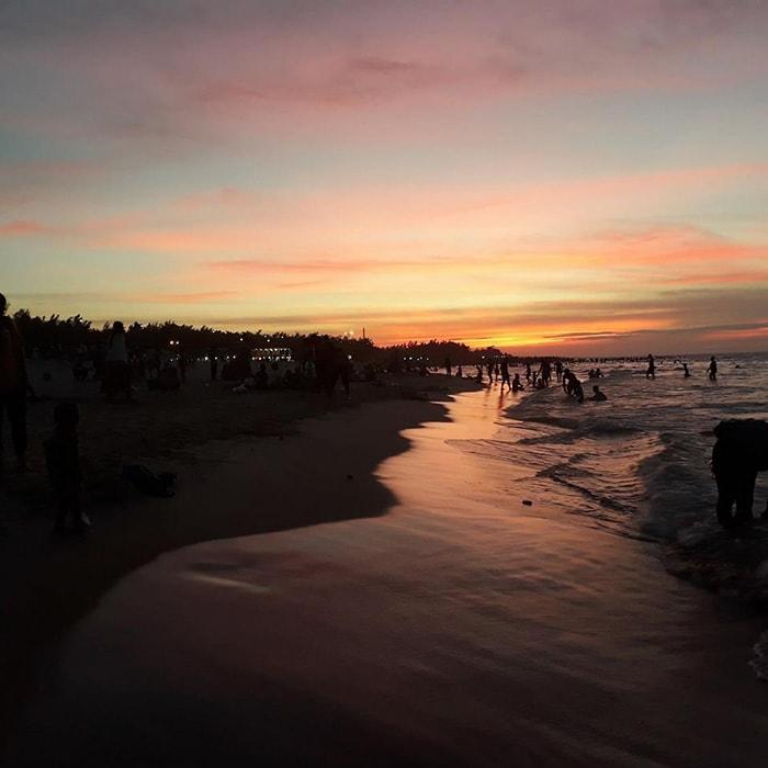 Bãi biển Thuận An nổi tiếng ở Huế