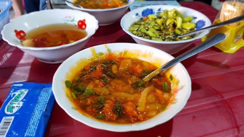 Bánh canh Nam Phổ cũng là món ăn đặc sản ở Huế nổi tiếng