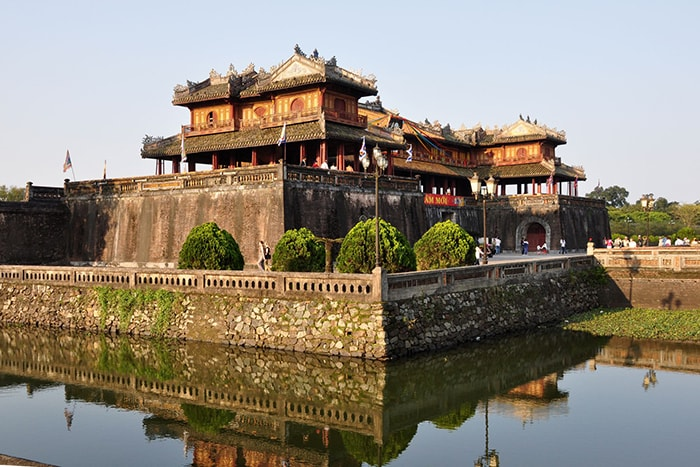 Cổng Ngọ Môn ở Huế