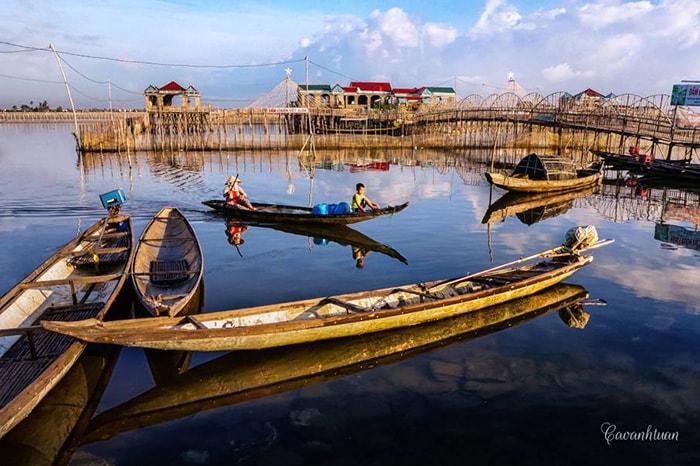 Đầm Chuồn là 1 phần trong Phá Tam Giang