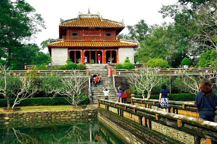 Lăng mộ vua Minh Mạng - Hiếu Lăng