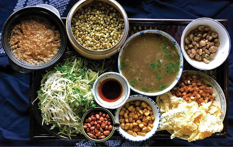 Đặc sản các món chay ở Huế