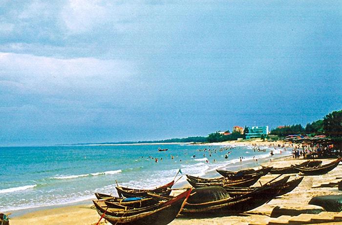 Vẻ đẹp của biển Thuận An