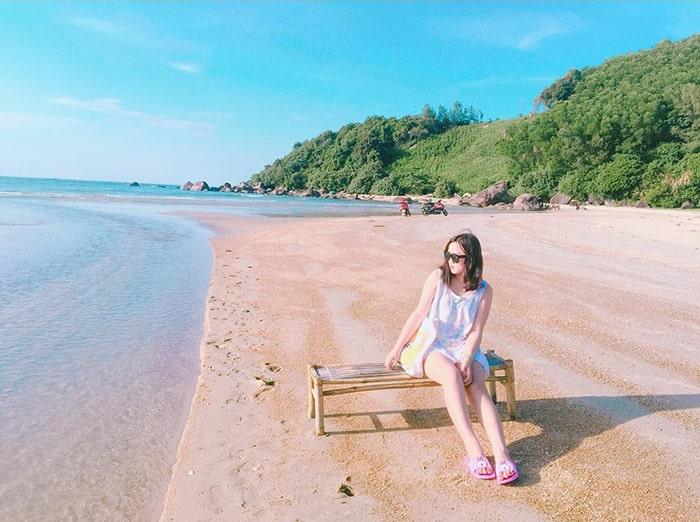 Biển Lộc Bình là địa điểm du lịch lý tưởng vào mùa thu ở Huế