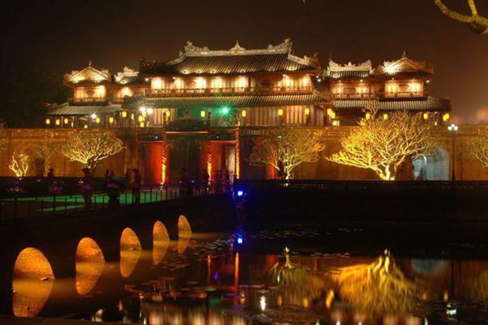 Đại Nội Huế là địa điểm du lịch lý tưởng khi du lịch Huế mùa đông