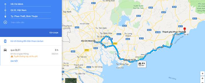 Cung đường ven biển Sài Gòn - Bình Thuận
