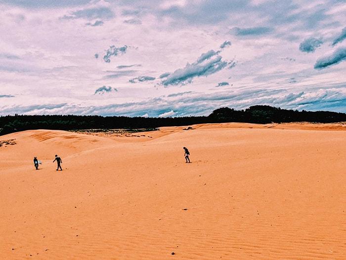 Đồi cát Bàu Trắng, Mũi Né