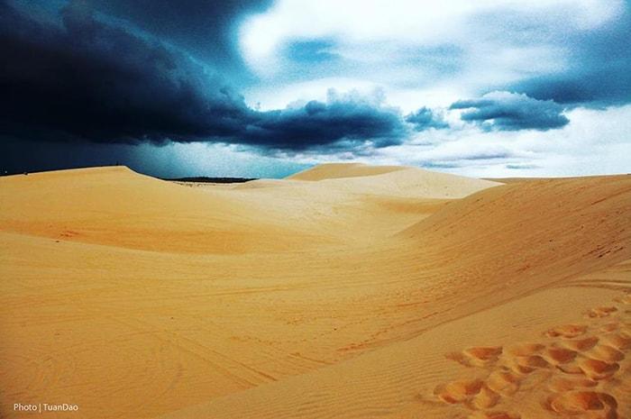 Đồi cát ở Bình Thuận