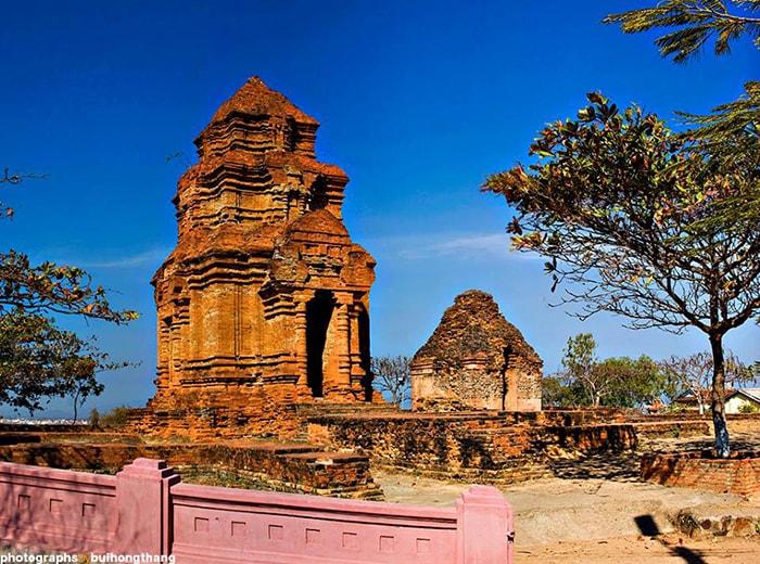 Tháp Chăm Phố Hài – Tháp Pôshanư