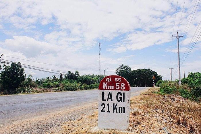 Đường đi thị xã LaGi, Bình Thuận