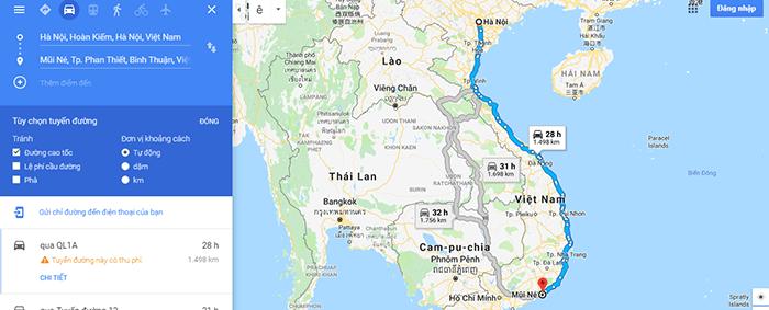 Cung đường phượt Hà Nội - Mũi Né