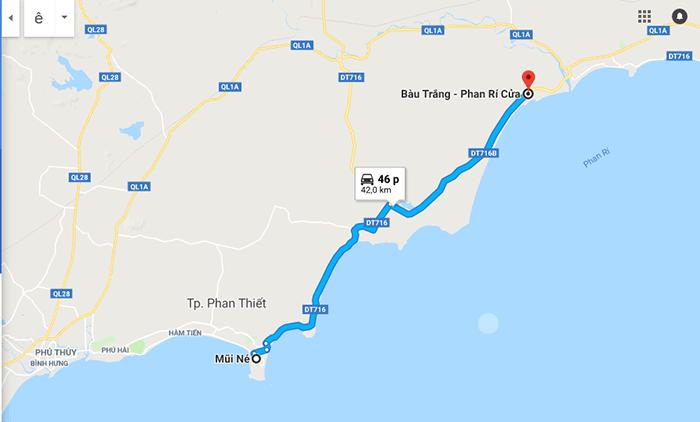 Cung đường Mũi Né - Bàu Trắng - Phan Rí Cửa