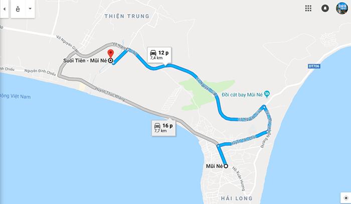 Cung đường Mũi Né - Suối Tiên