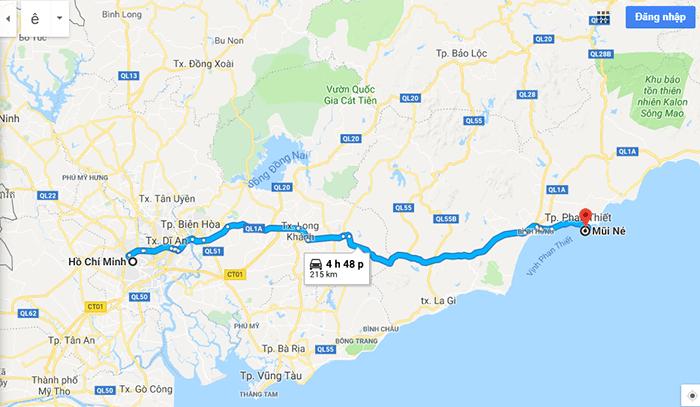 Cung đường phượt Sài Gòn - Mũi Né theo quốc lộ 1A