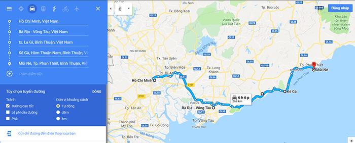 Cung đường phượt Sài Gòn Mũi Né ven biển