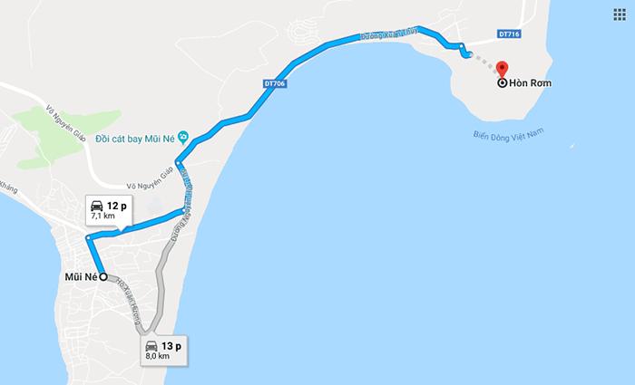 Cung đường Mũi Né - Hòn Rơm