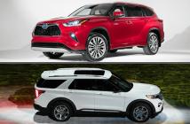 Nên mua Ford Explorer 2020 hay Toyota Highlander 2020?
