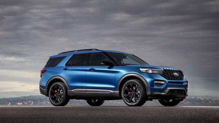 Mẫu xe thử nghiệm của Ford Explorer 2020