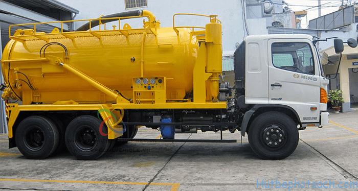 Công ty Hút Bể Phốt 247 hoạt động trên nhiều tuyến đường tại Hà Nội
