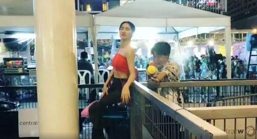 Hòa Minzy đăng clip có bạn trai khi chơi bên Thái khiến cộng đồng phấn khích