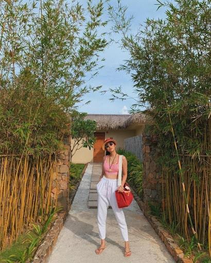 Tăng Thanh Hà du lịch Phú Quốc dịp lễ