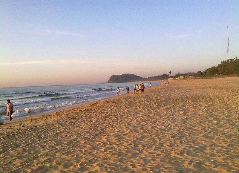 Một góc thơ mộng quyến rũ của biển Sa Huỳnh