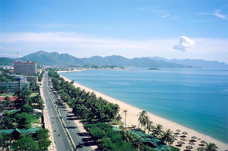 Bãi biển Nha Trang đẹp ngất ngây