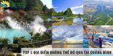 Top 5 địa điểm không thể bỏ qua khi ghé thăm Quảng Bình