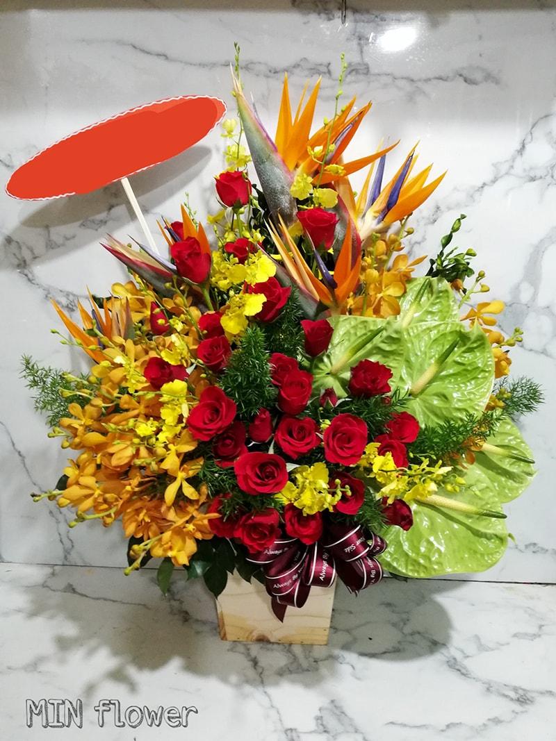 Shop hoa Min Flower Ninh Thuận
