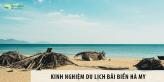 Du lịch bãi biển Hà My - Top những bãi biển đẹp nhất Châu Á