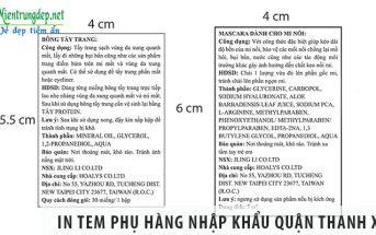 3 cách in tem phụ hàng nhập khẩu quận Thanh Xuân giá rẻ