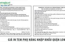 Giá in tem phụ hàng nhập khẩu quận Long Biên ở đâu rẻ nhất?