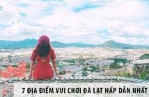 Đẹp ná thở 7 địa điểm vui chơi Đà Lạt hấp dẫn nhất 2021